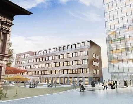 Kontorshus vid Lyckholms gamla fabriker